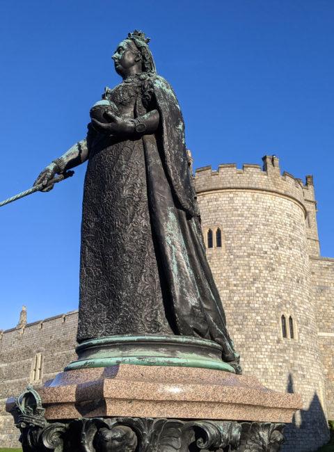 Queen Victoria Statue, Windsor, Berkshire, England