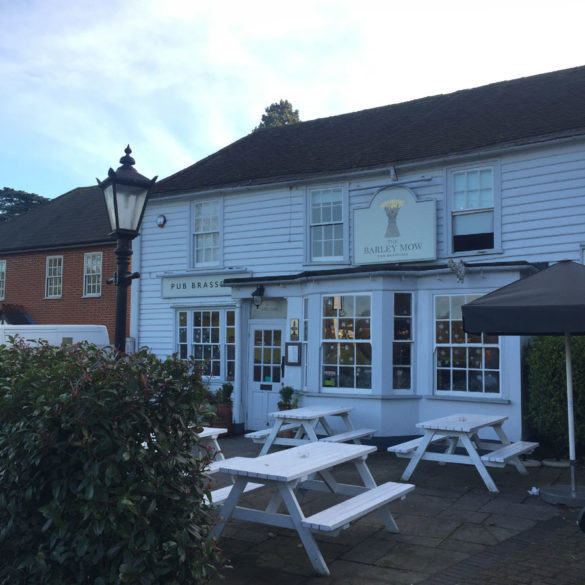 The Barley Mow pub, Englefield Green, Surrey