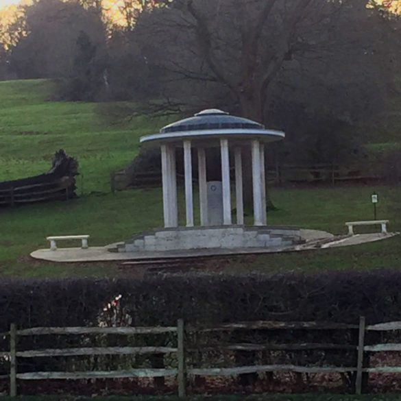 The Magna Carta Memorial, Runnymede, Surrey