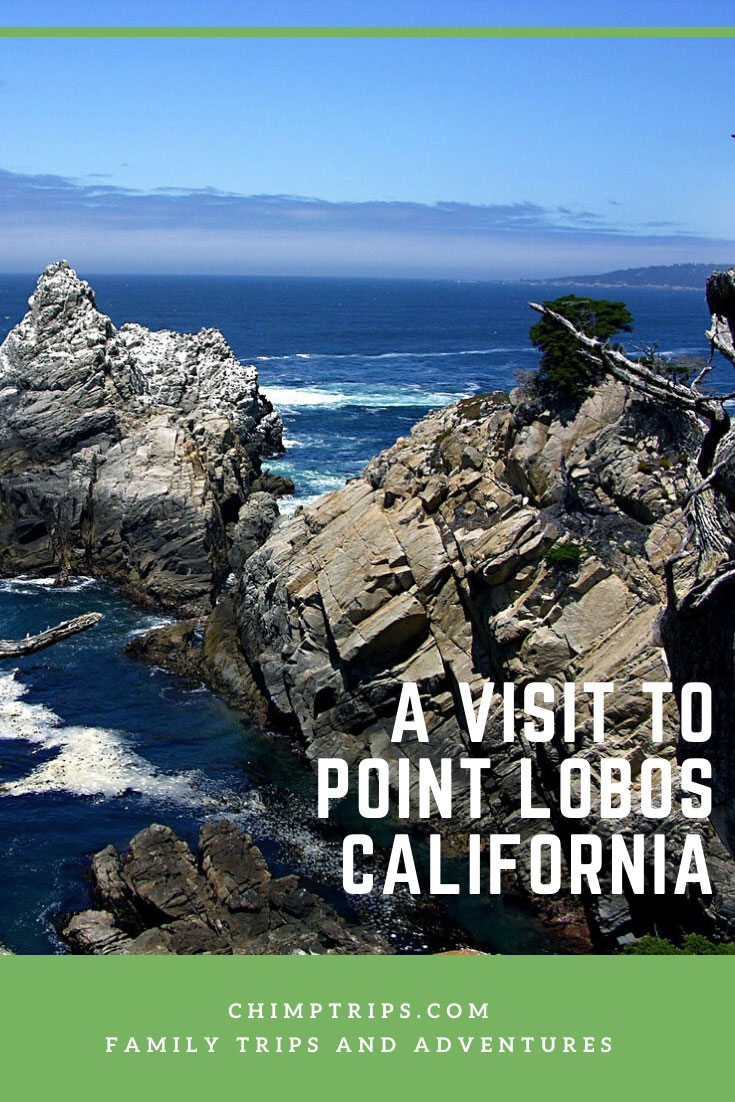 Front cover to A visit to Point Lobos, California from the Chimptrips