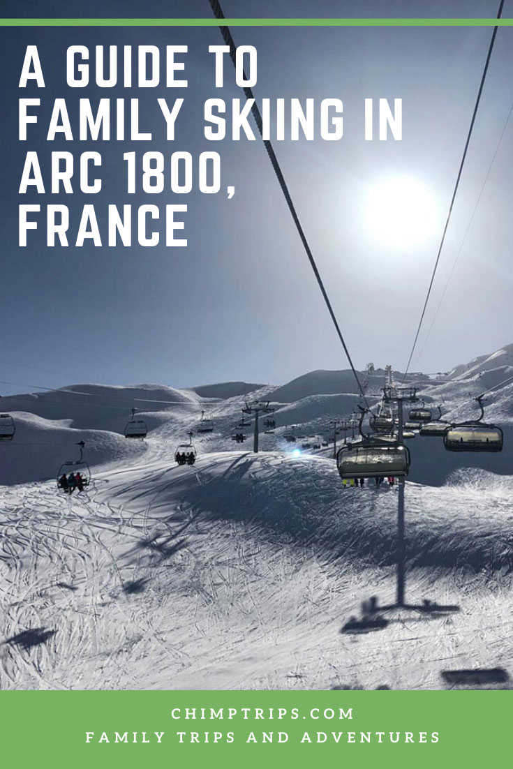 Pinterest A guide to family skiing in Arc 1800, France