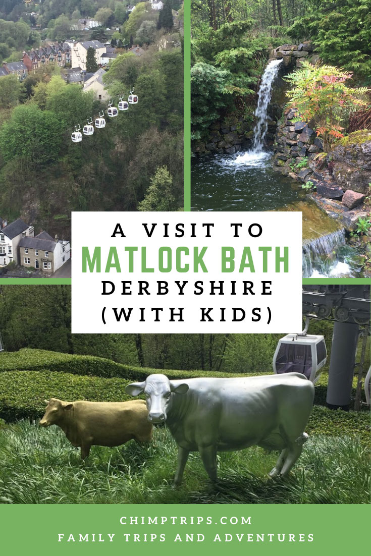 Pinterest page for A visit to Matlock Bath Derbyshire