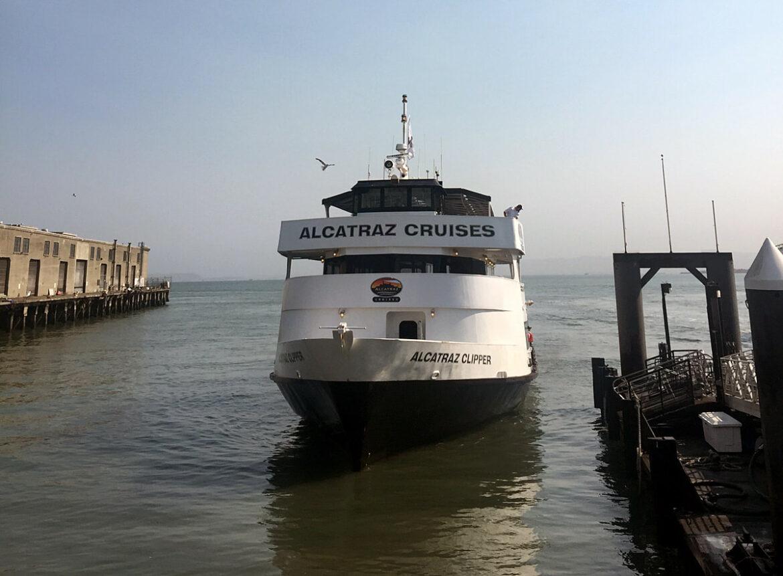 Purchased Alcatraz Island Tickets allows us to board the clipper