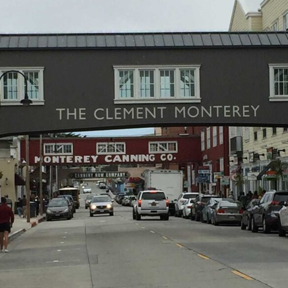 Cannery Row, Monterey in California