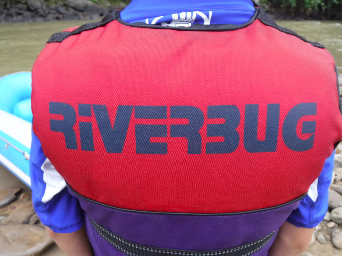Riverbug rafting, River Kiulu, Borneo