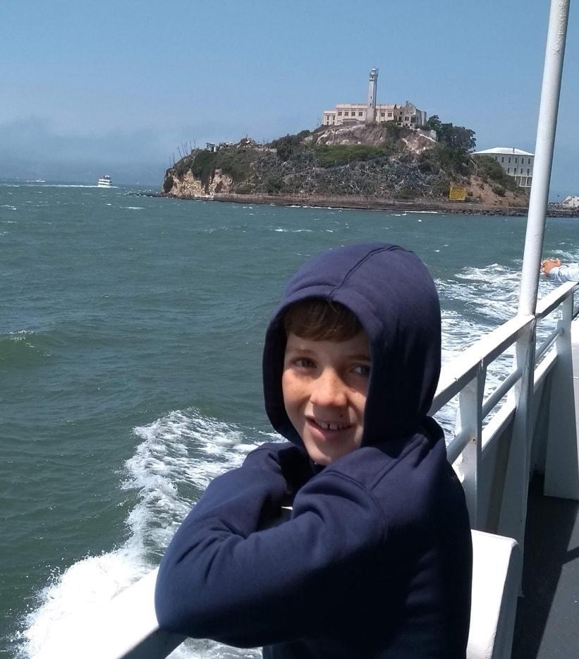 Return trip from Alcatraz using Alcatraz Island ticket