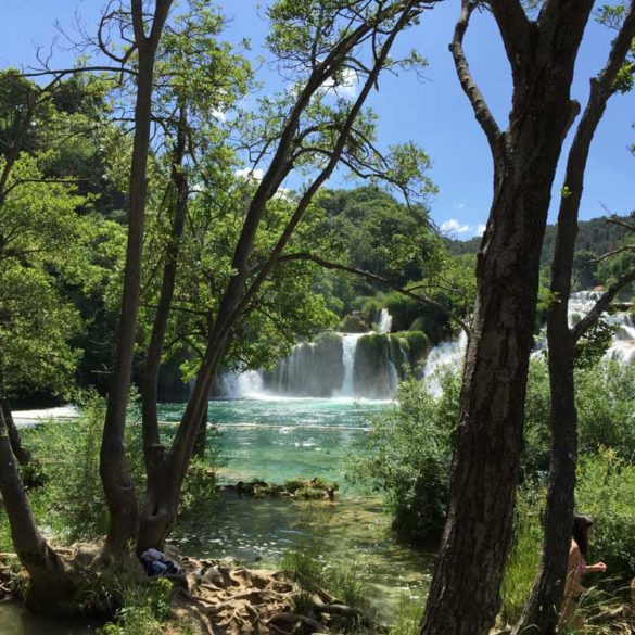 Skradinski Buk Waterfall, Krka National Park, Split, Croatia