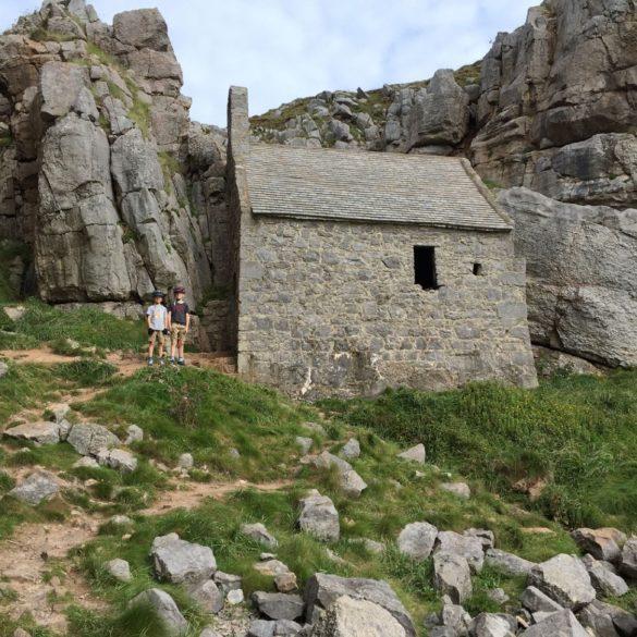 St Govan's Chapel, St Govan's Head, Pembrokshire, Wales