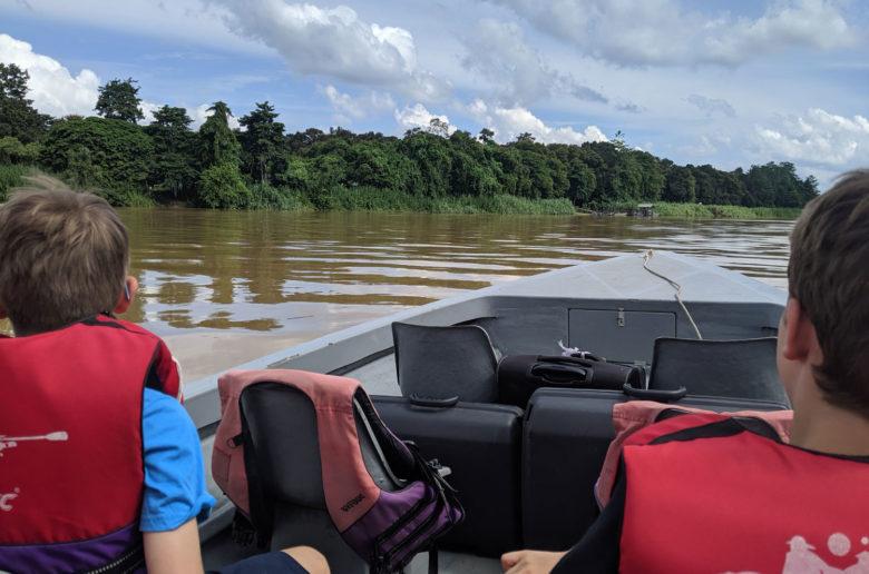 Kinabatangan River boat Jungle Safari, Borneo, USA