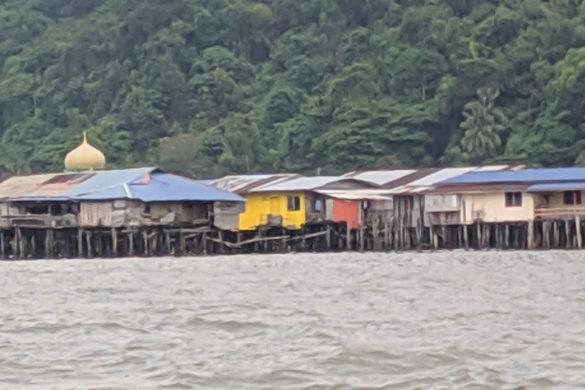 Kampung Buli Sim, Sandakan, Borneo