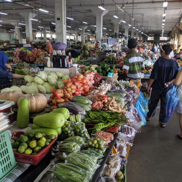 Sandakan Food Market, Borneo