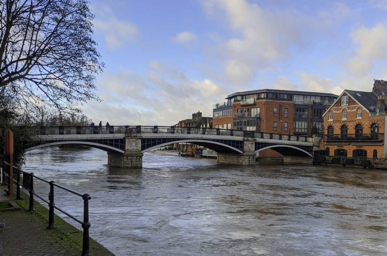 Eaton Bridge, Windsor, Berkshire, UK