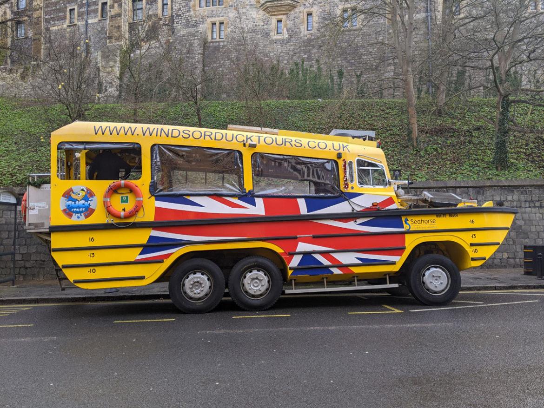 Windsor Duck Tours, Windsor, Berkshire, England
