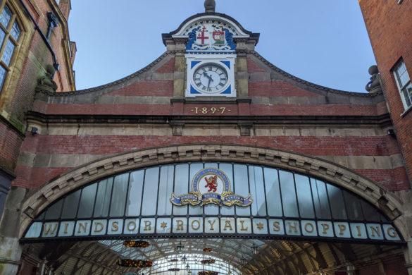 Windsor Royal Station, Entrance, Windsor, Berkshire, England