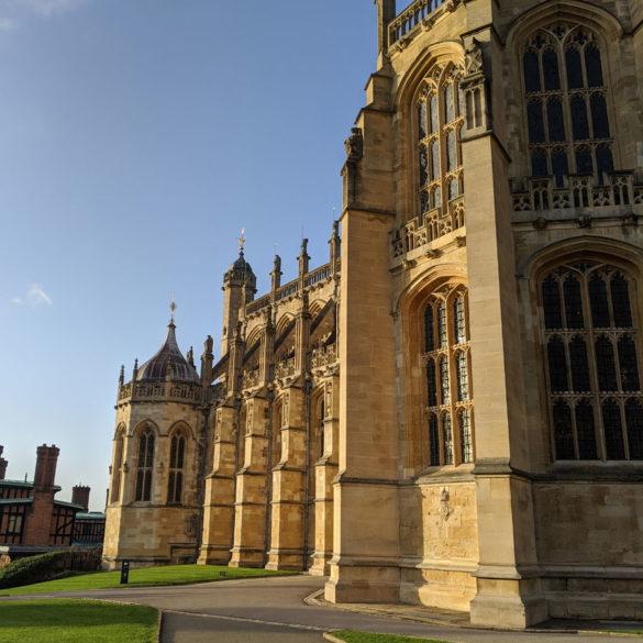 St Georges Chapel, Windsor Castle, Windsor, Berkshire, England