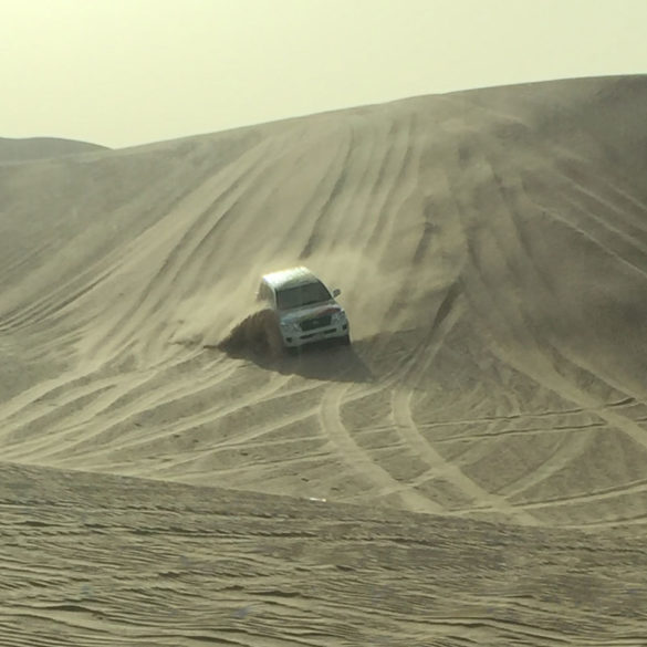 Dune bashing, Abu Dhabi