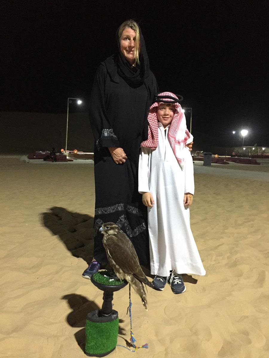 traditional dress, Abi Dhabi