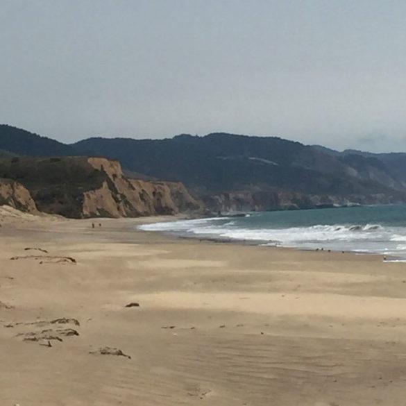 Limantour Beach, Point Reyes, California, USA