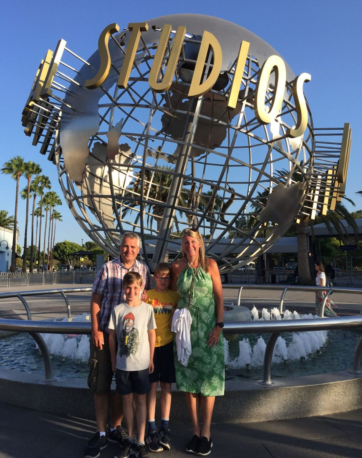 Entrance to Universal Studios, LA