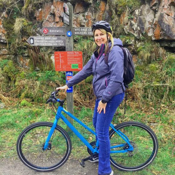 Riding the Monsal Trail, Derbyshire