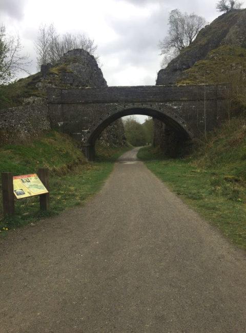 Old Bridge from Monsal Trail, Derbyshire