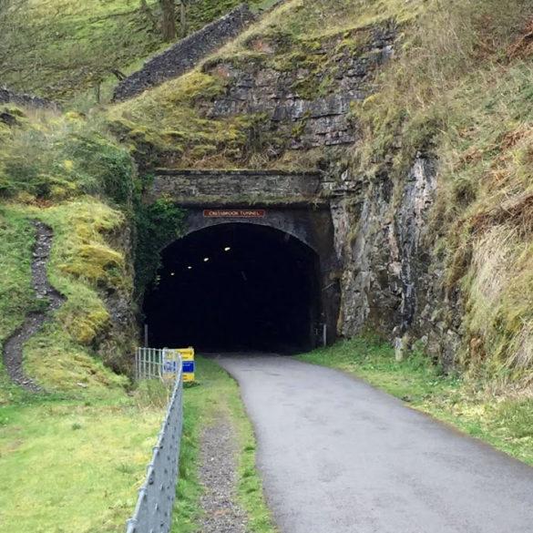 Monsal Trail, Tunnel, Derbyshire