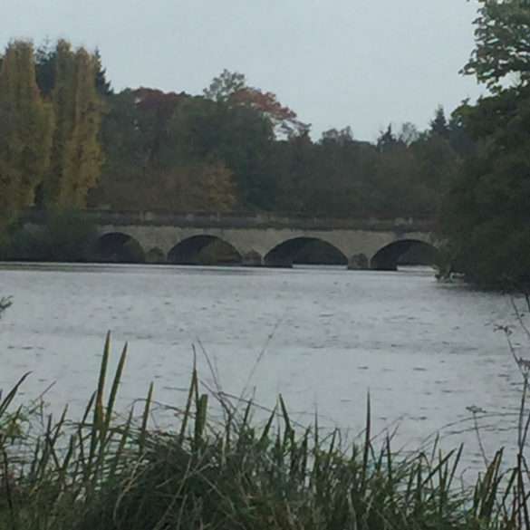 Five Arch Bridge, Virginia Water Lake, Egham, Surrey, UK