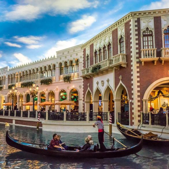 Inside Venetian hotel, Las Vegas