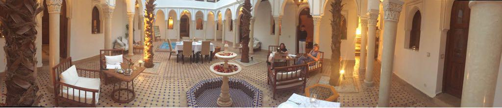Three days at the Rhiad Jardin d'abdou Marrakech, Morocco.