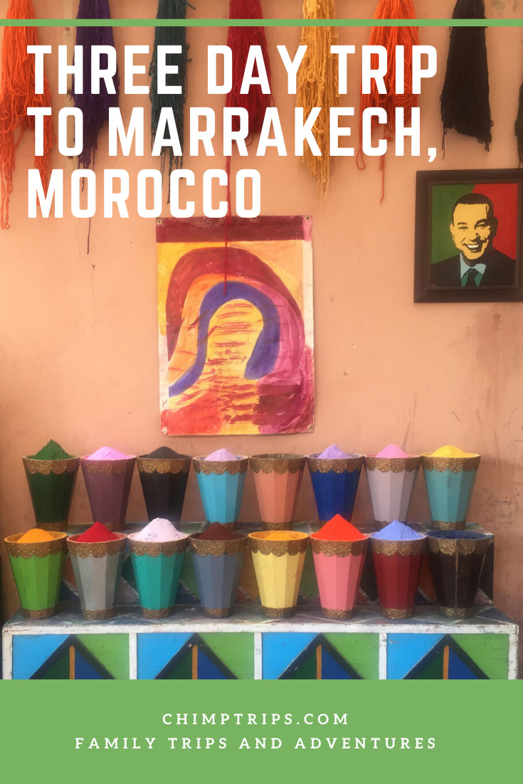 CHIMPTRIPS - Three day trip to Marrakech, Morocco