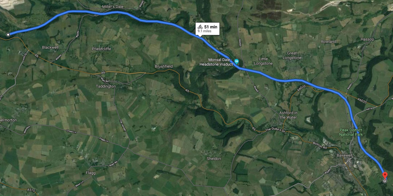 Monsail Trail, Derbyshire