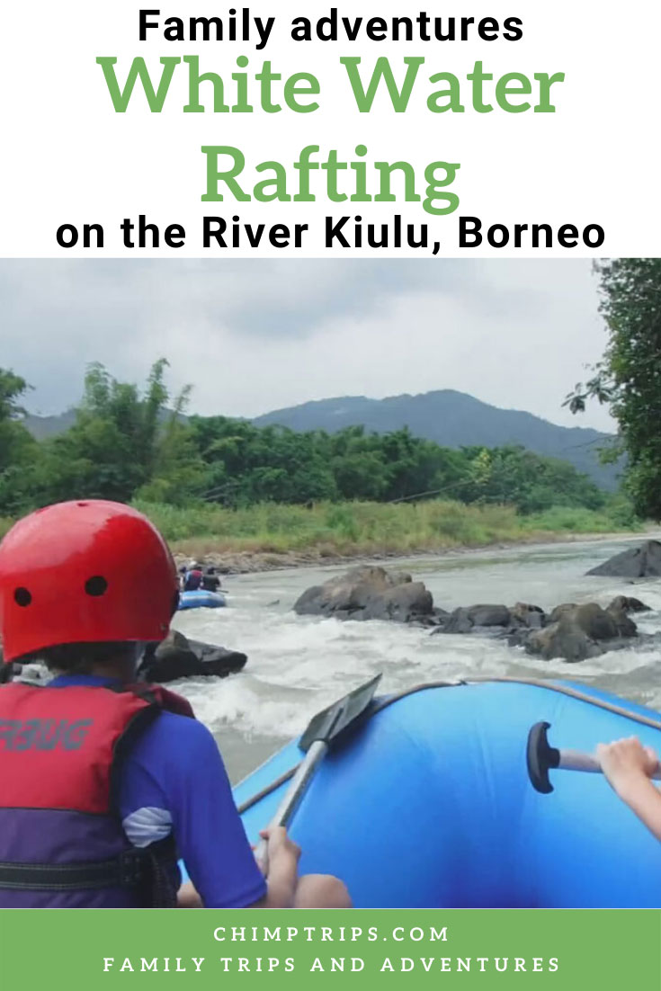 Pinterest - White water rafting on River Kiulu, Borneo
