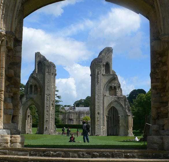 Glastonbury Abbey, Somerset