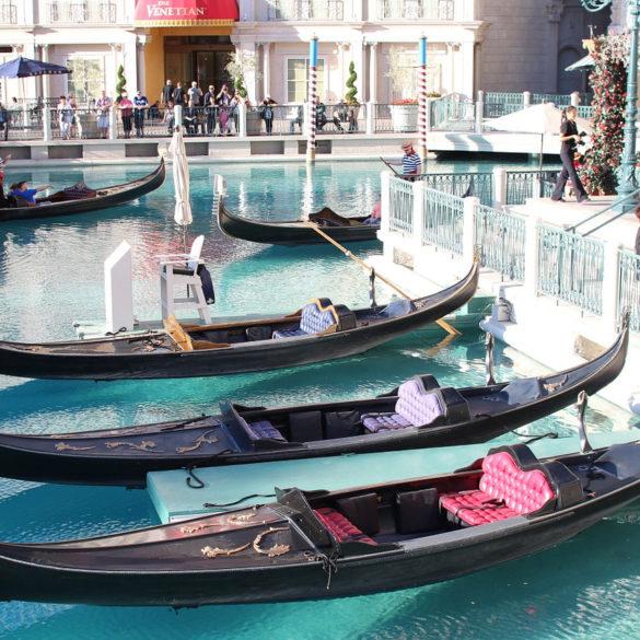 Gondola at Venetian hotel, Las Vegas