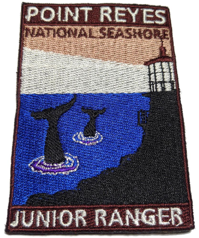 Junior Ranger Badge, Point Reyes, California, USA