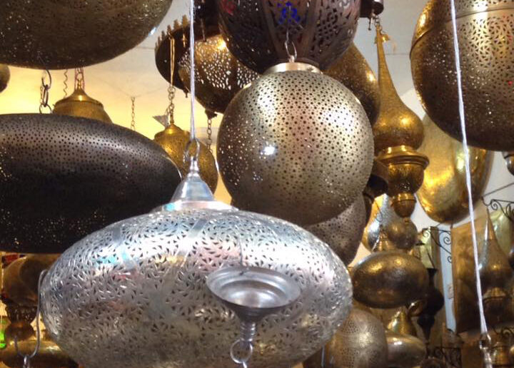 Shopping in Marrakech for traditional Moroccan crafts