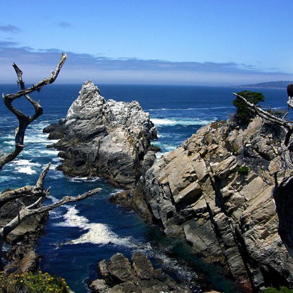 Coastal View at Point Lobos State Natural Reserve, California, USA