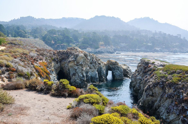 Coastal View at Point Lobos, California