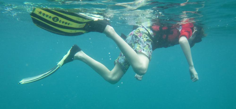 Snorkeling in Tunku Abdul Rahman Marine Park Kota Kinabalu