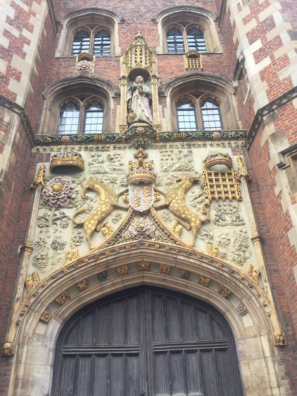 St-Johns-College. Cambridge, UK