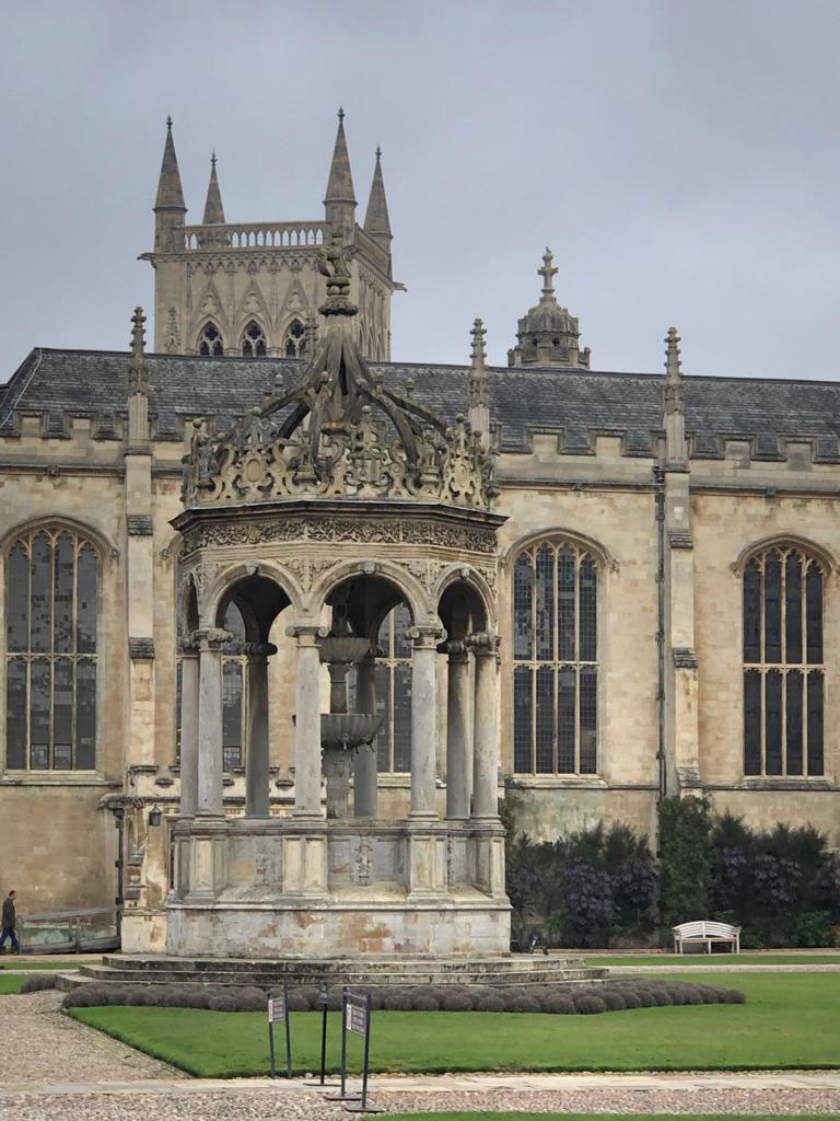 Tour of Colleges, Cambridge, view of chapel