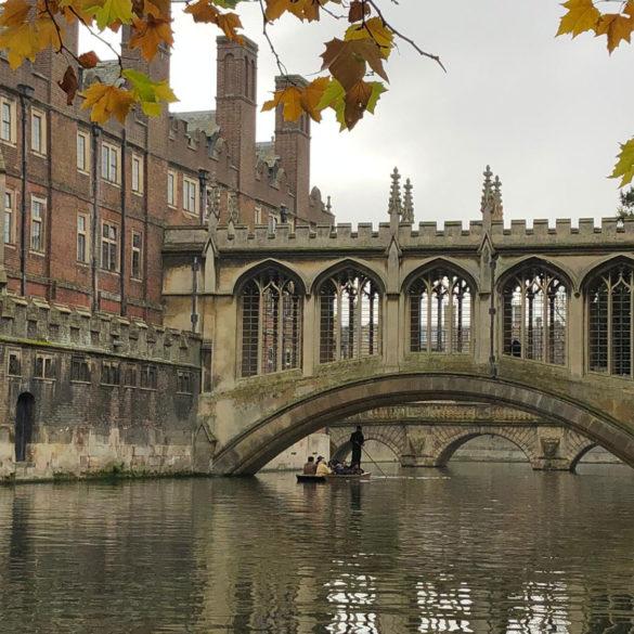 Bridge-of-Sighs, Cambridge, UK