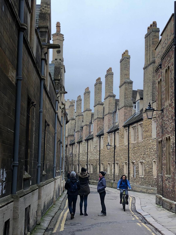 Streets of Cambridge, Cambridge, UK