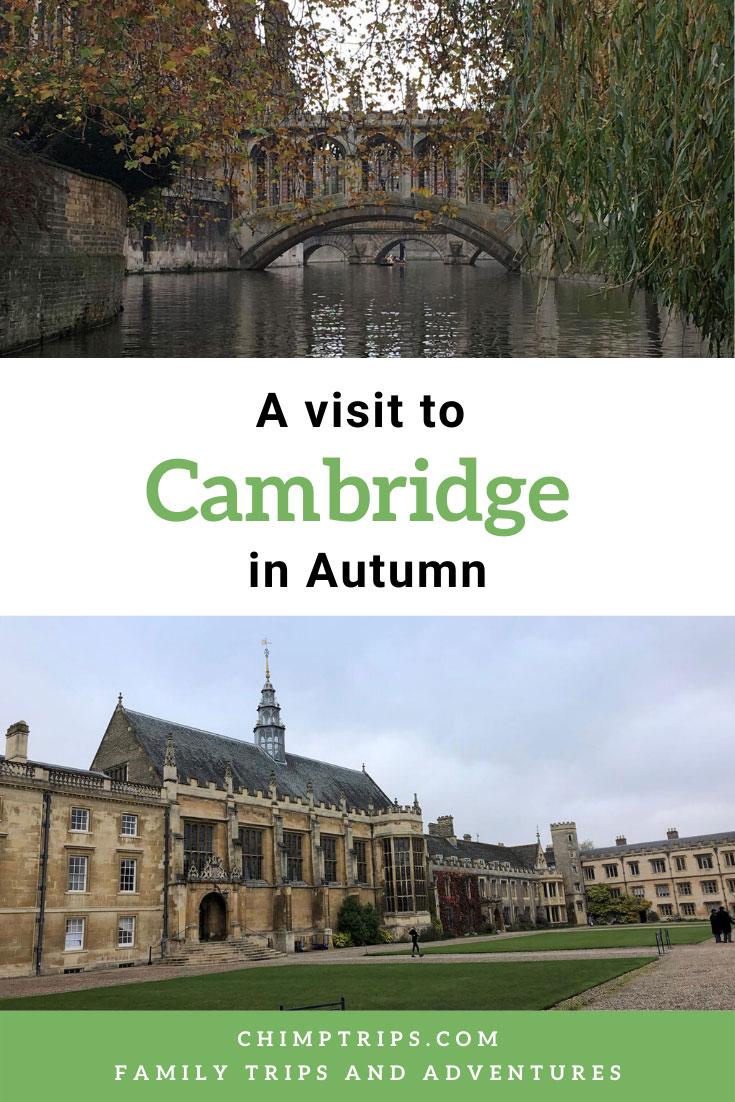 A visit to Cambridge, Pinterest Pin