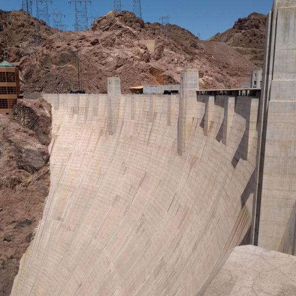 Hoover Dam view, Nevada, USA