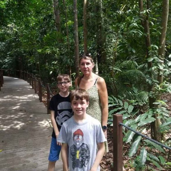 Rainforest Walk, Botanic Gardens, Singapore