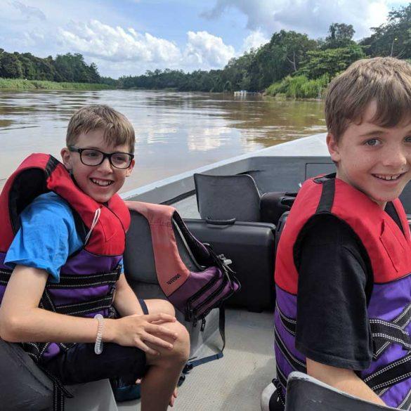 River Safari, River Kinabatangan, Borneo