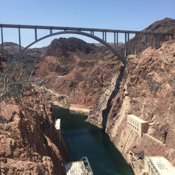 Hoover Dam Bypass Bridge, Nevada, USA