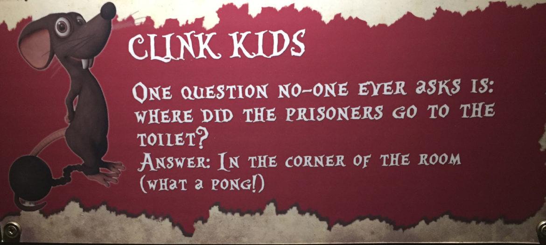 Clink Prison, information for kids, London England