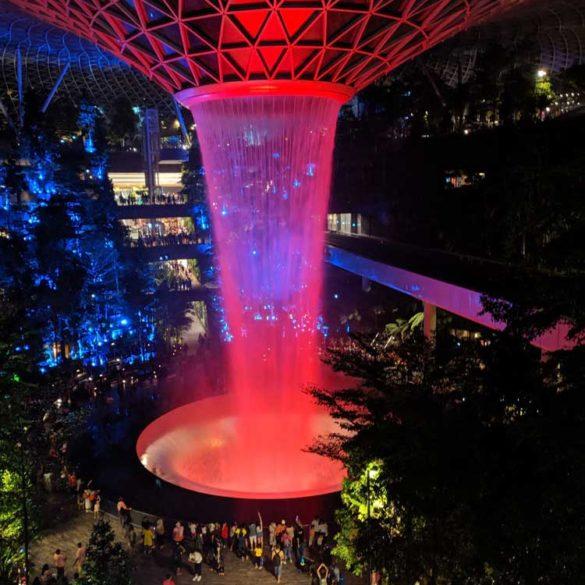 Rain Vortex, The Jewel, Changi Airport, Singapore